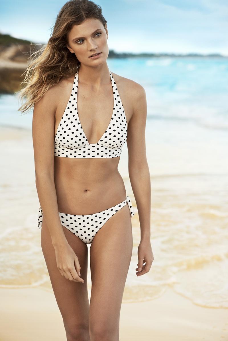 Etam Swim Campaign Summer 2018 featuring Constance Jablonski