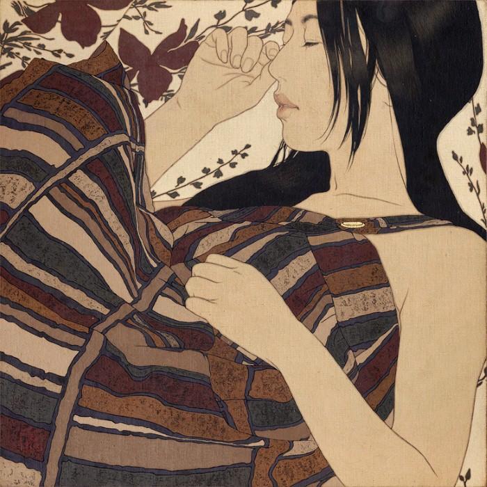 Древняя японская традиция. Ikenaga Yasunari 17