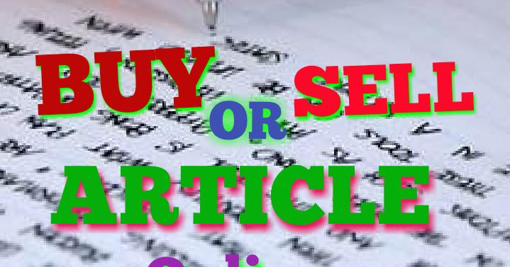Buy article