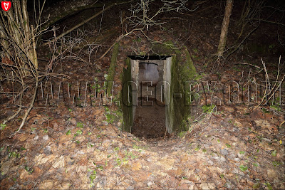 Левый вход в бункер №07 VII БРО