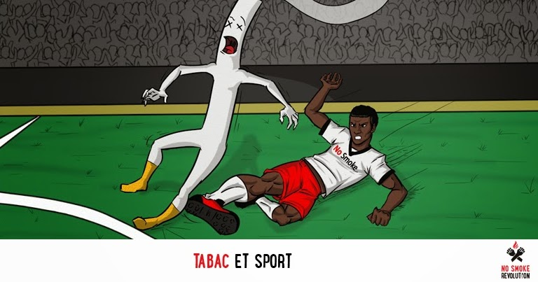 performance sportive et tabac