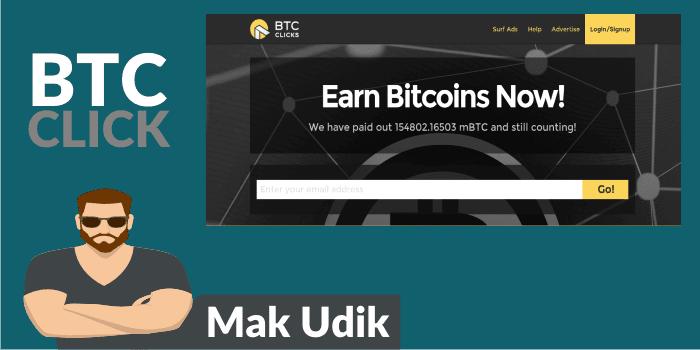 Cara Mendapatkan Bitcoin Gratis Dari Btcclicks.com