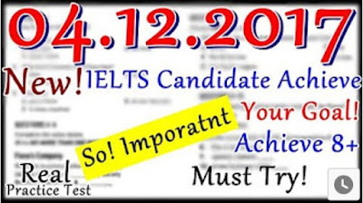 IELTS LISTENING PRACTICE TEST 2017 WITH ANSWERS | 04.12.2017