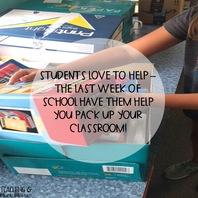 tips for packing up your classroom