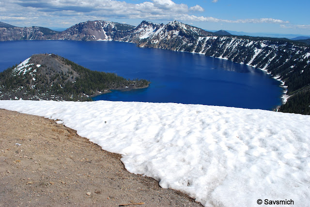 looking east crater lake