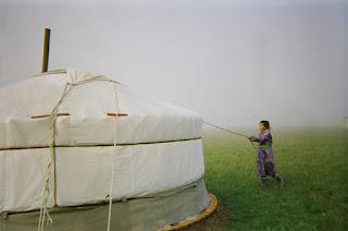 Mongolia, jurtta,Khan Khenti, riitta reissaa