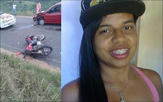 Jovem residente em Santa Luzia do Seridó sofre grave acidente de moto