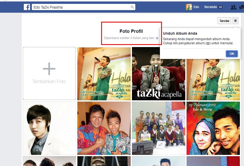 Cara Download Album Foto dari Facebook dengan Singkat ...