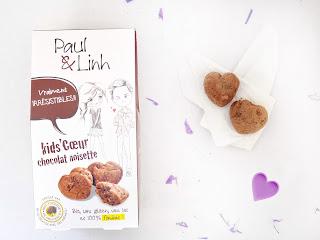 Paul & Linh - Kids Coeur choco noisette( Biscuiterie de Provence)