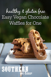 Easy Vegan Chocolate Waffles Recipe Gluten Free