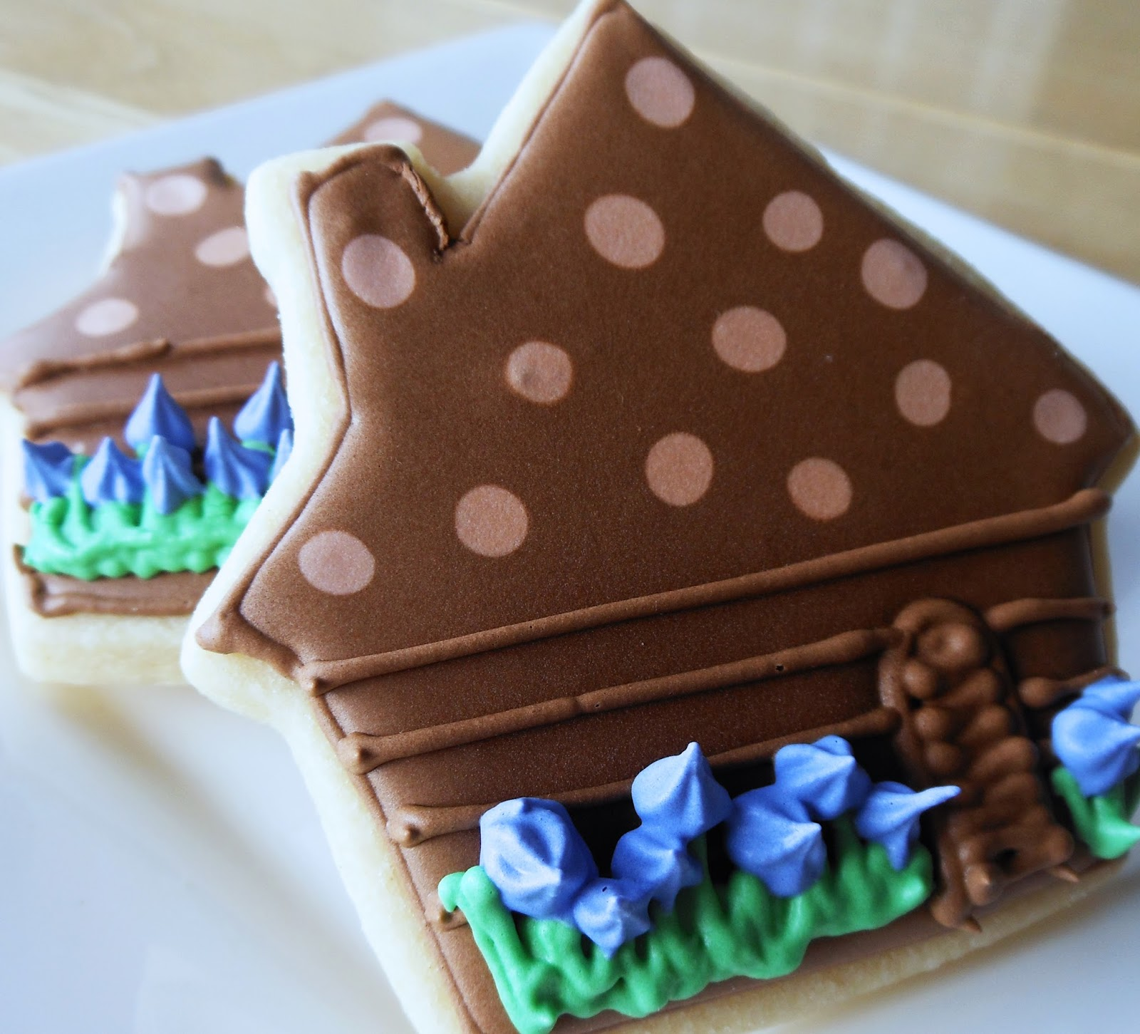 My Cookie Clinic Log Cabin Cookies Honest Abe