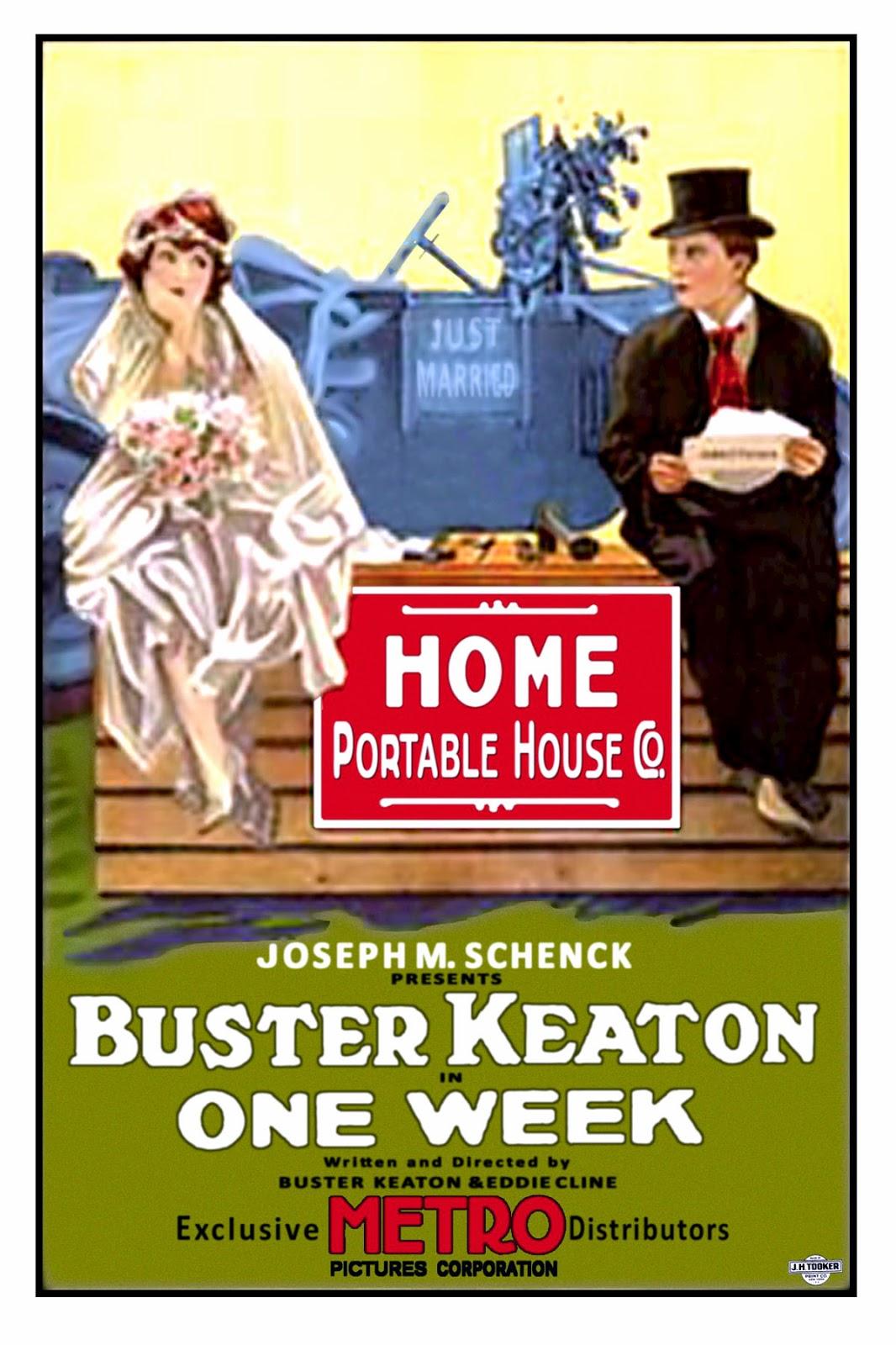 Una semana - Buster Keaton