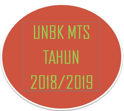 Soal UNBK MTs IPA Tahun Pelajaran 2018/2019