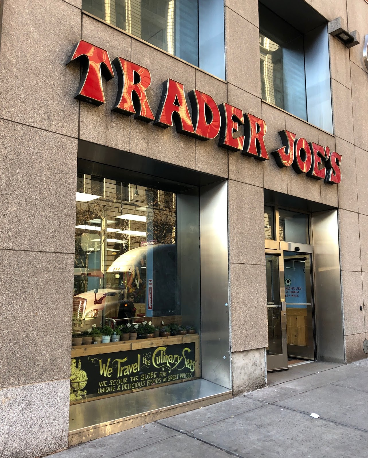 In Home Delivery Ev Grieve Trader Joe S Will End Home Delivery In Manhattan On March 1