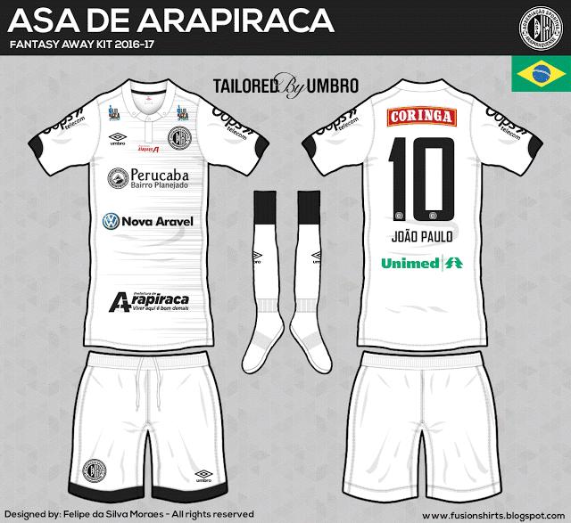 Designer cria camisas dos clubes da Série C inspiradas na Umbro ... c546356c92e6d