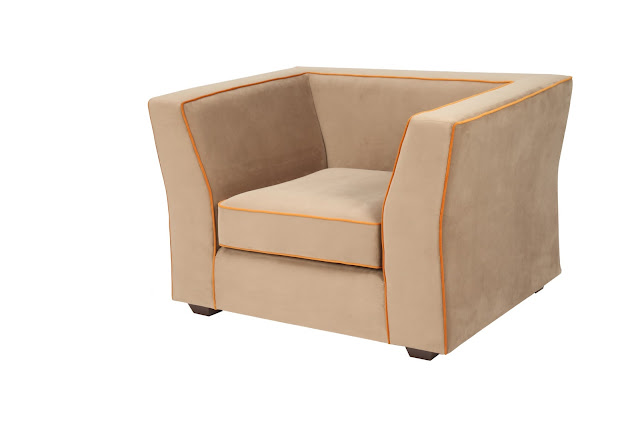Stretch Plush Armchair by Casa Colour (1)