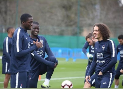 guendouzi sarr konate discussing