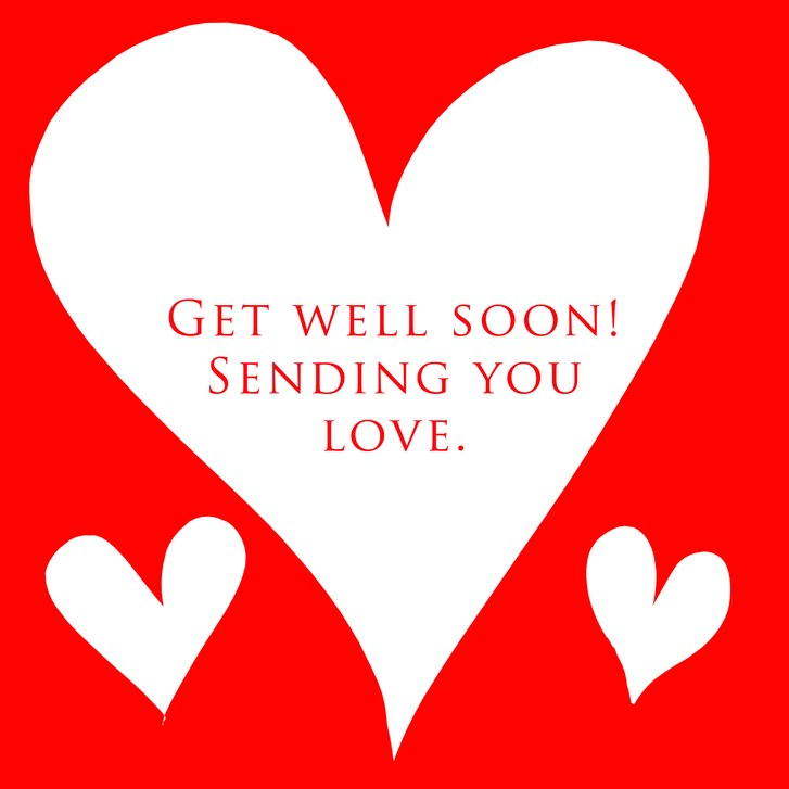 Romantic Get Well Soon Images for Girlfriend