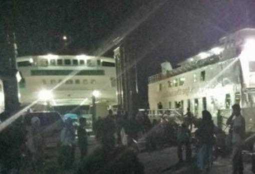 Penumpang Tujuan P.Jampea, Buru Fery Ke Pelabuhan Bira