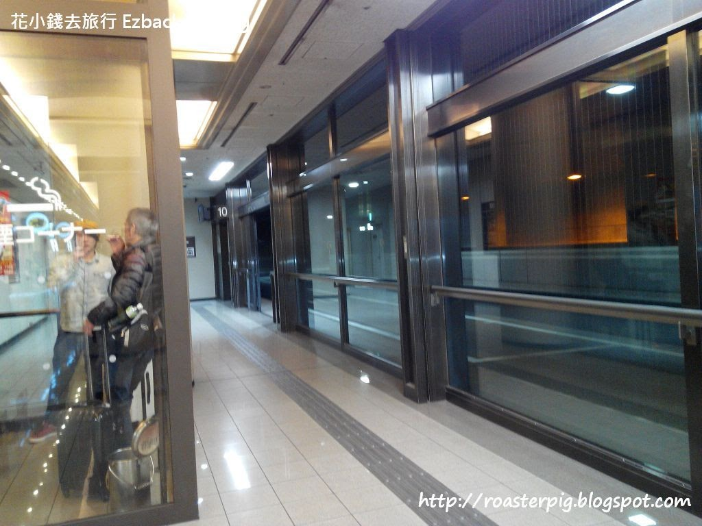 難波OCAT高速巴士總站實拍 - 花小錢去旅行