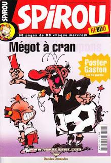 Spirou Hebdo, Poster Gaston partie 4 , numéro 3614, année 2007