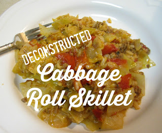 Deconstructured cabbage skillet rolls recipes