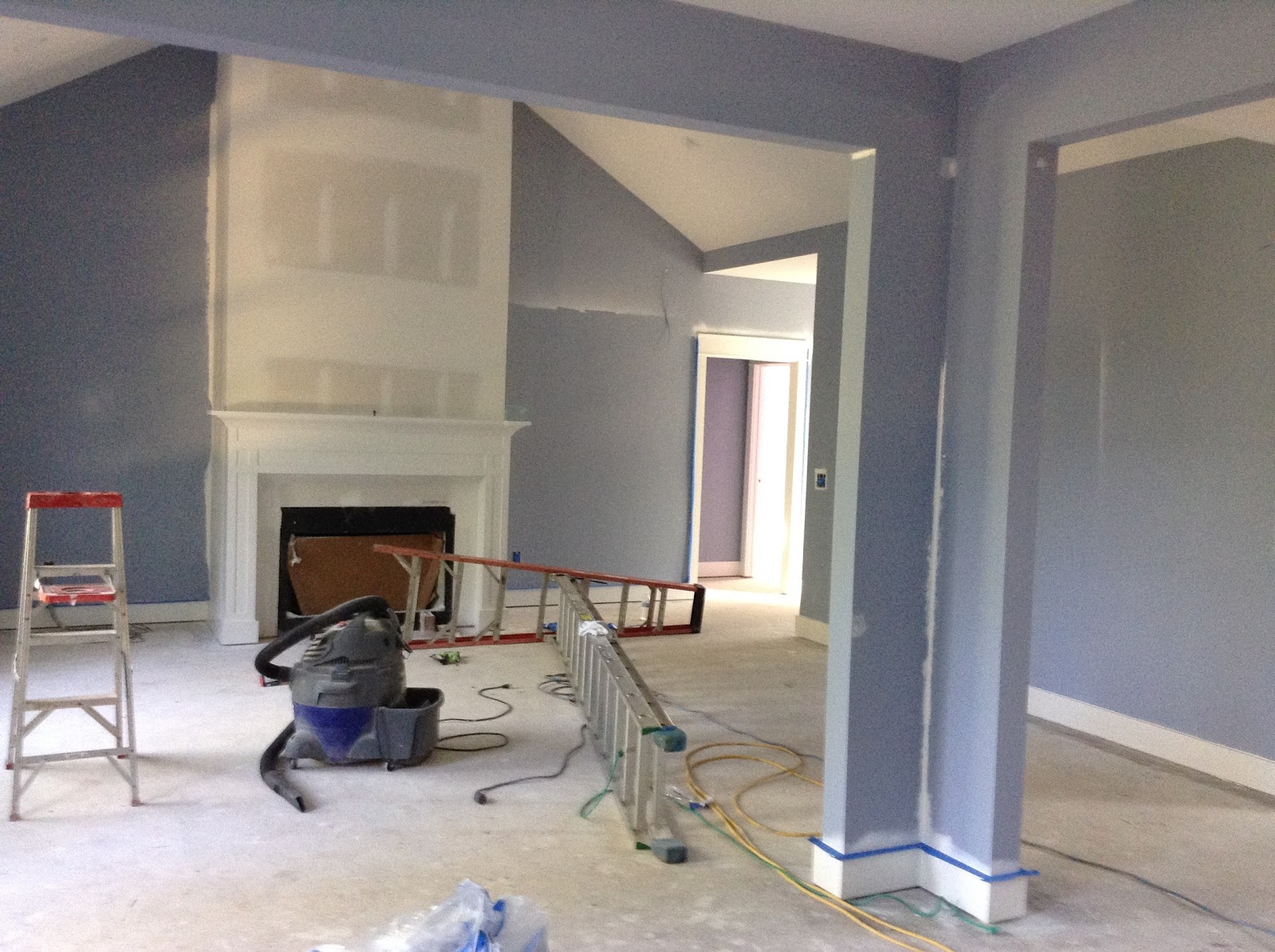 Looking From The Dining Room Into Living This Color Is Sherwin Williams Aleutian