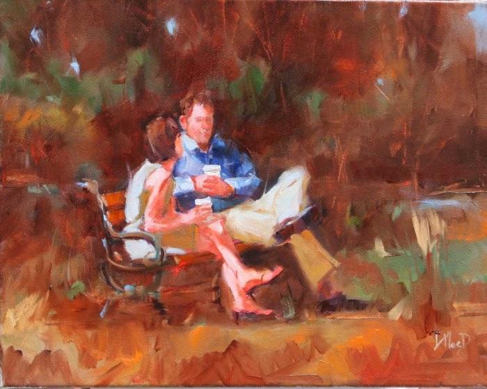 Канадская художница. Donna MacDonald