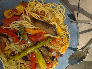 Fire Roasted Vegetable Pasta 4