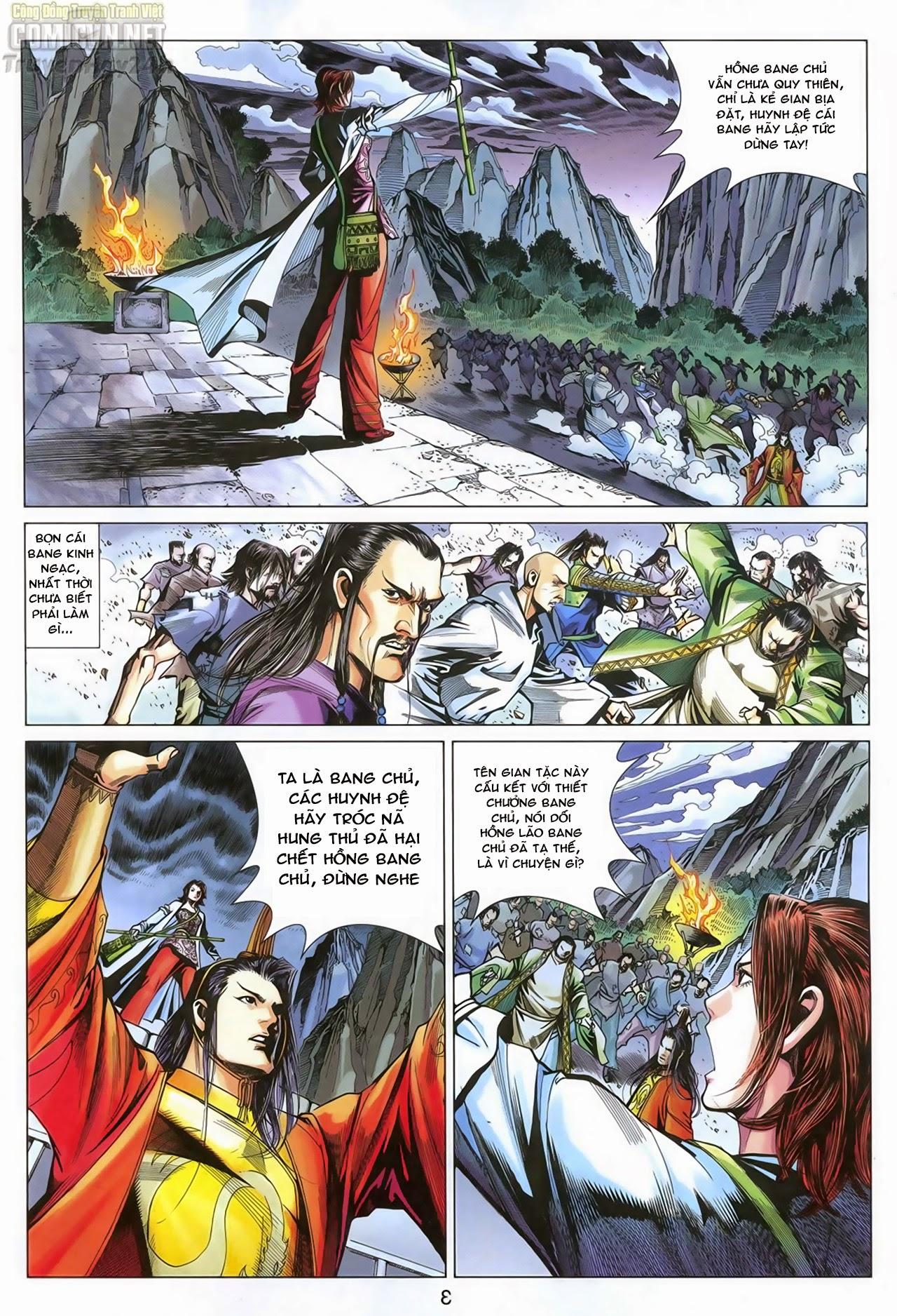 Anh Hùng Xạ Điêu anh hùng xạ đêu chap 68: di thư chân kinh - lừa tình trang 4