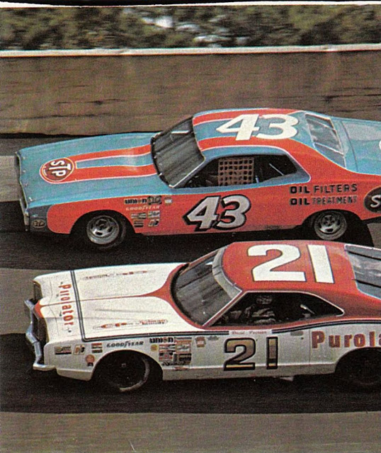 Fotografías Final carrera NASCAR Daytona - 1976