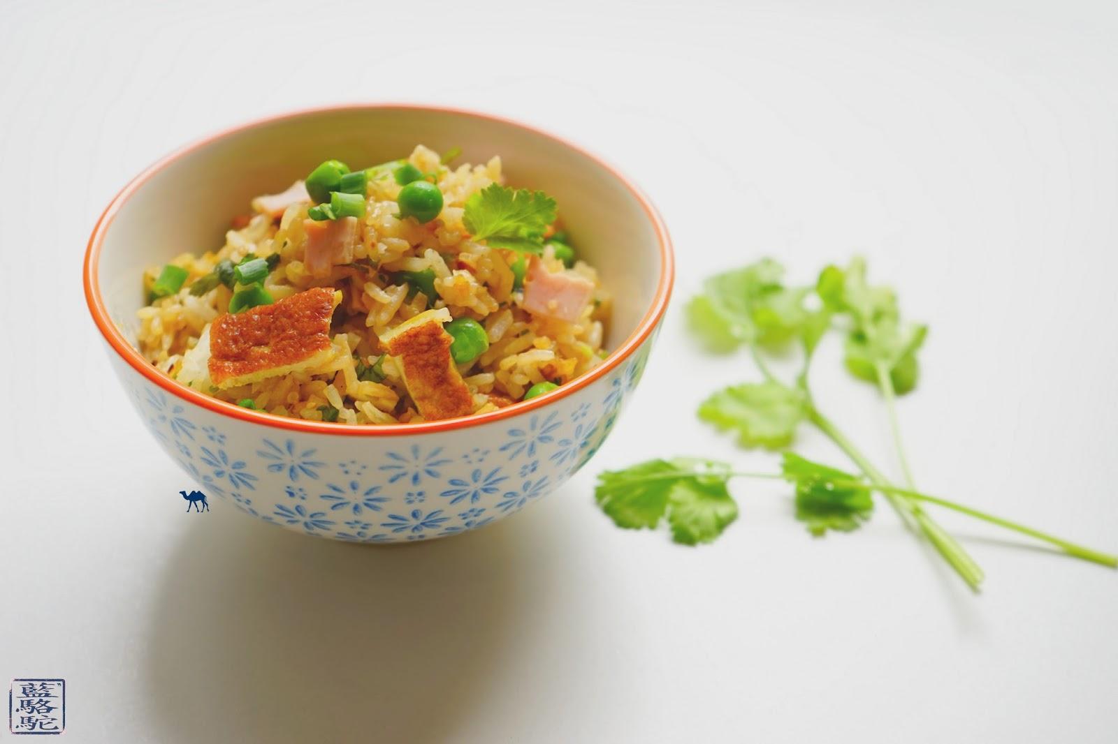 Le Chameau Bleu - Blog Cuisine Asiatique -Recette d'un riz cantonnais sauté