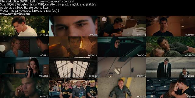 Abduction [Secuestro] DVDRip Español Latino Descargar 1 Link