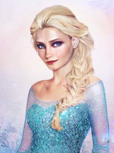 Foto ritratti delle Principesse Disney: come sarebbero