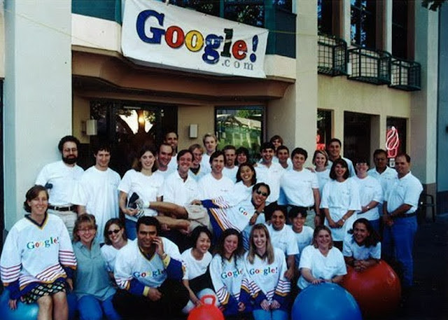 What was the original team of Google employees?