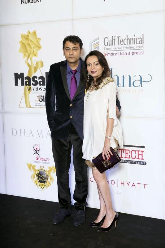 Kamlesh and Priti Parekh, Masala! Awards 2014 Photo Gallery