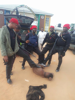 Rivers State : Security Operatives Layhold On Notorious Cultists And Rapist
