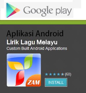 Aplikasi Lirik Lagu Melayu untuk Hp Android