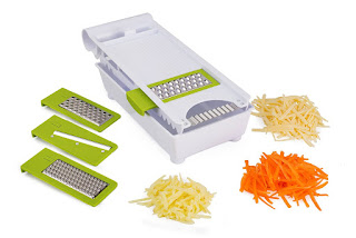 OFFER Kuuk Mandoline slicer set ,Grater Set – 6 in 1 (handy kitchen gadget) £10.00
