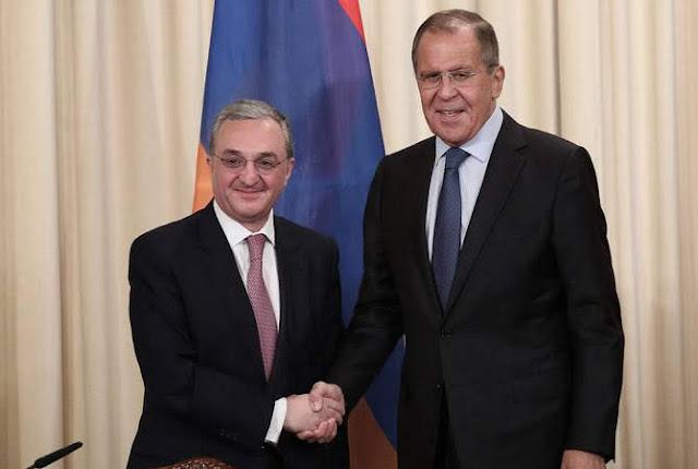 Canciller armenio y ruso discuten profundizar cooperación