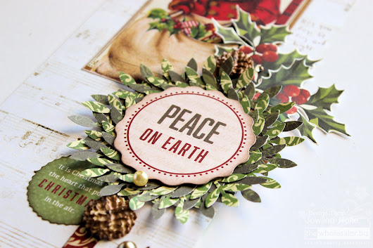 Christmas in July – Peace Pennant.