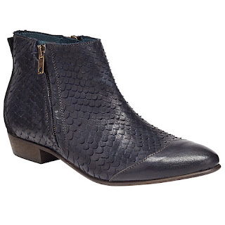 Somerset By Alice Temperley Puxton Reptile Effect Ankle Boot