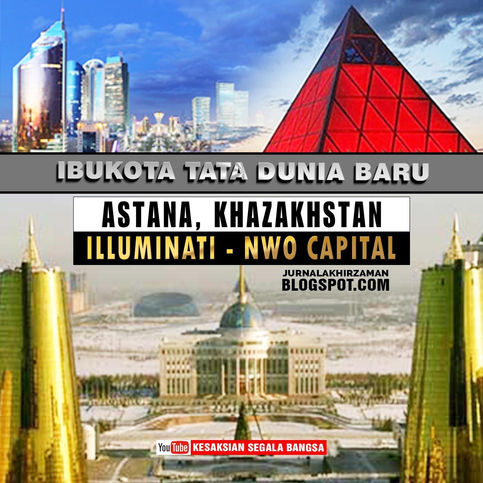 Lucifer Dalam Islam Adalah: Ibukota Tata Dunia Baru / Illuminati