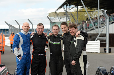 l-r (me) Daniel French, Tom Allen, Matt Sheppard, James Murphy, Matthew Creak