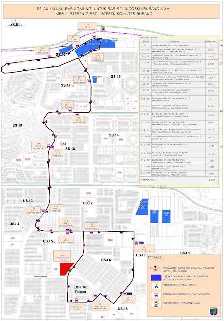 Bas Percuma Selangorku Free Bus Services Bus Routes Subang Jaya