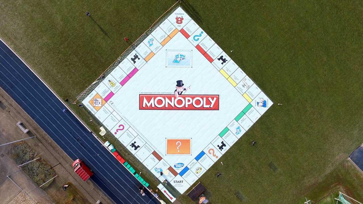 Le plus grand monopoly du monde