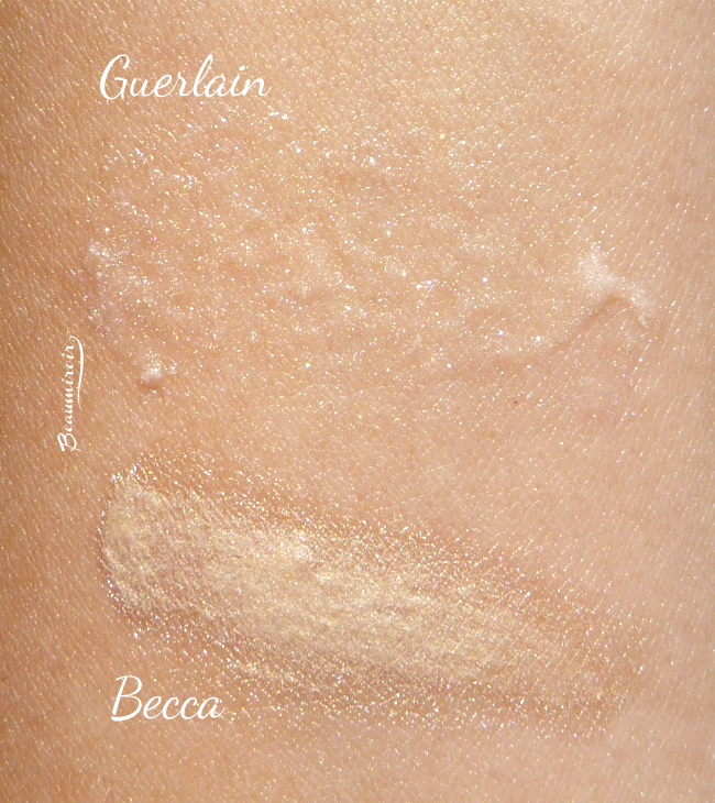 Becca Backlight Priming Filter vs. Guerlain Meteorites Base Perfecting Pearls primer!