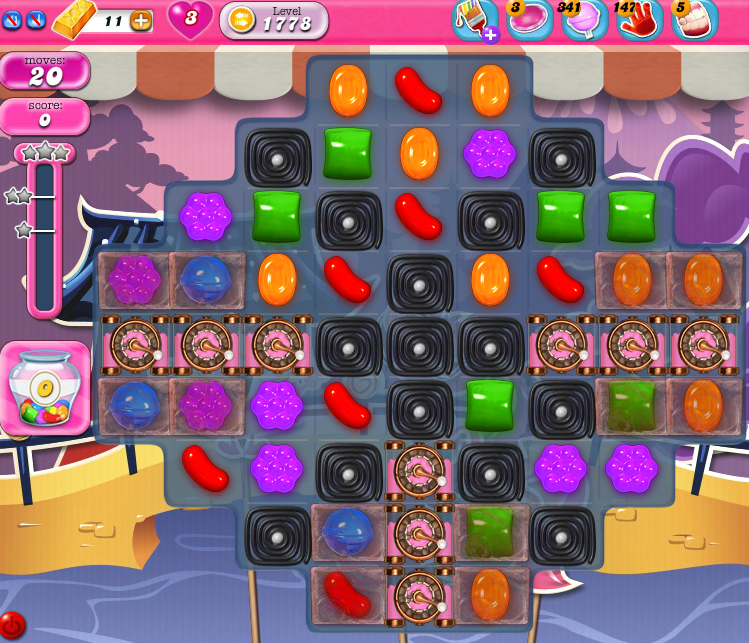 Candy Crush Saga 1778