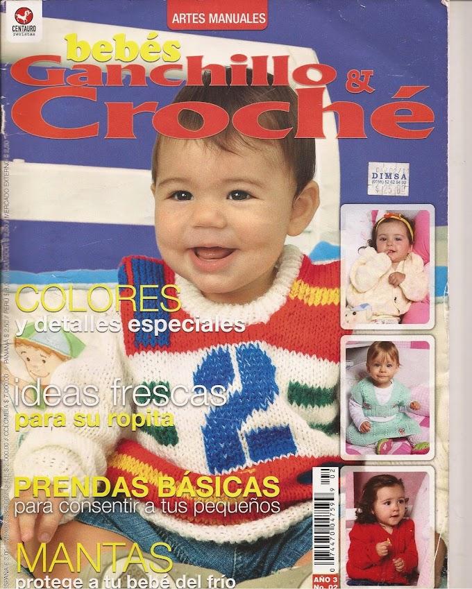 Tricô E Crochê Bebê(Ganchillo & Crochê Bebés)