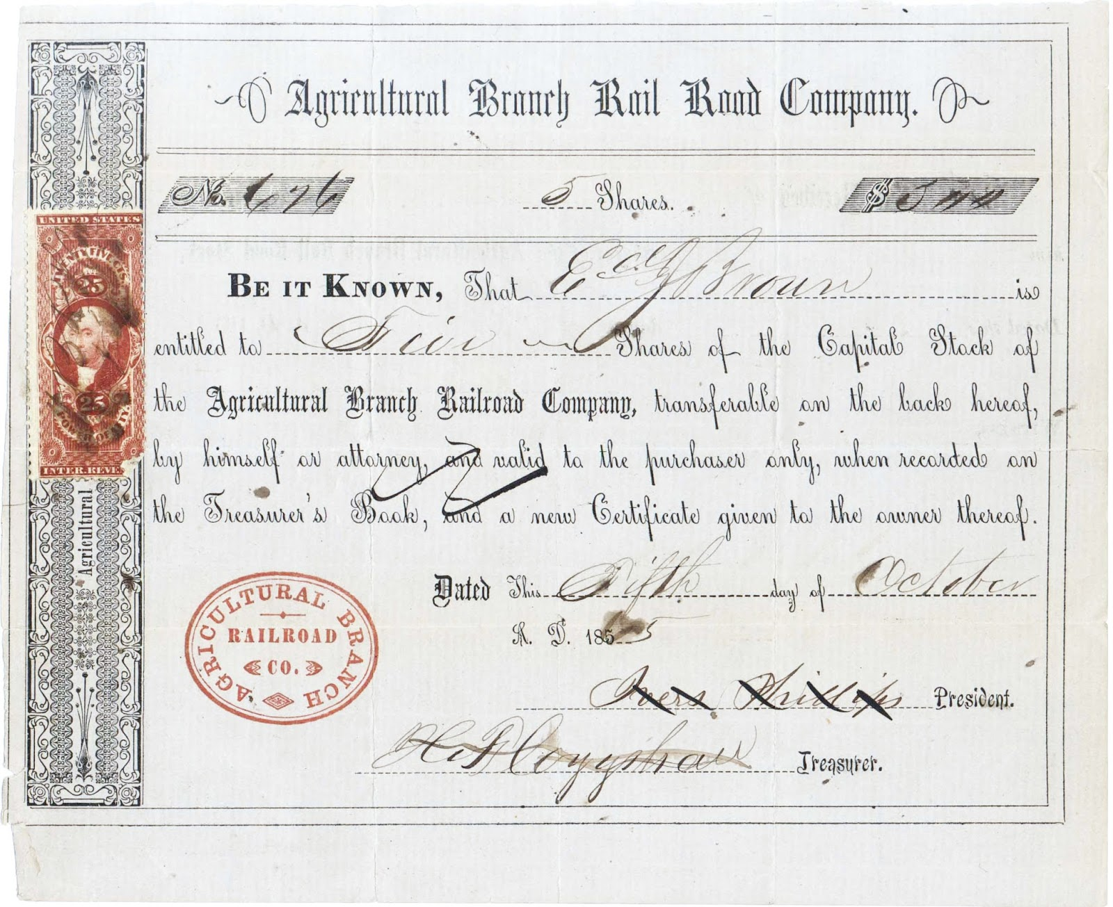 Coxrail news and announcements and here is an example of a stock certificate identical to one that the shareholder above would have owned 1betcityfo Choice Image
